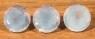 Комплект лавандовых аметистов российской огранки формы круг, общий вес 38.7 карат, размер 15.2х15.2мм (amth0205)