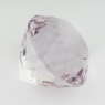 Бледно-фиолетовый аметист отличной российской огранки формы круг, вес 30.85 карат, размер 19х19мм (amth0245)