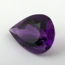 Ярко-фиолетовый аметист груша, вес 14.49 карат, размер 20.5х15.1мм (amth0254)