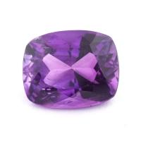 Ярко-фиолетовый аметист антик, вес 7.59 карат, размер 14.5х11.6мм (amth0320)
