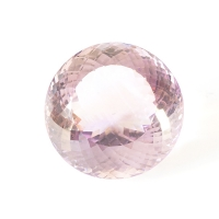 Аметрин круг вес 69.75 карат, размер 25.9х25.7мм (amtr0017)