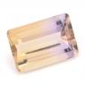 Аметрин октагон вес 5.68 карат, размер 13.8х9.3мм (amtr0069)