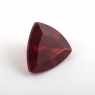 Темно-красный андезин формы триллион, вес 0.99 карат, размер 7х7мм (andesine0002)