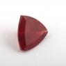 Темно-красный андезин формы триллион, вес 1.01 карат, размер 7.1х7.1мм (andesine0003)