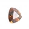Желтовато-коричневый гранат андрадит триллион вес 1.21 карат, размер 6.7х6.6мм (andr0002)