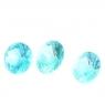 Апатит комплект кругов общим весом 2.42 карат, размер 6.4х6.4 и 6х6мм (apt0044)