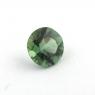 Зеленый апатит круг, вес 0.77 карат, размер 6.1х6.1мм (apt0087)