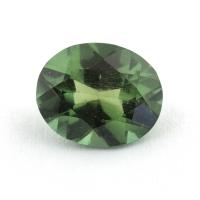 Зеленый апатит овал, вес 2 карат, размер 9.3х7.7мм (apt0089)