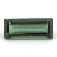 Зеленый апатит багет, вес 2.31 карат, размер 12.7х5.3мм (apt0090)