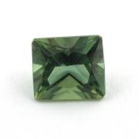 Зеленый апатит багет, вес 1.83 карат, размер 7.6х6.7мм (apt0092)