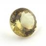 Желтый апатит круг, вес 2.61 карат, размер 8.7х8.7мм (apt0095)