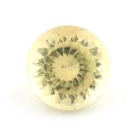 Желтый апатит круг, вес 2.17 карат, размер 8.2х8.2мм (apt0097)