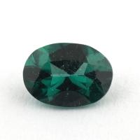 Сине-зеленый апатит овал, вес 0.68 карат, размер 7х5.1мм (apt0099)