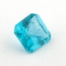 Голубовато-зеленый апатит квадрат, вес 0.73 карат, размер 5.6х5.5мм (apt0103)