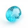 Зеленовато-голубой апатит овал, вес 1.4 карат, размер 8.4х6.2мм (apt0114)