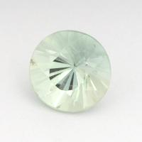 Аквамарин круг вес 0.93 карат, размер 6.5х6.5мм (aqua0129)