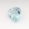 Аквамарин триллион вес 1.01 карат, размер 6.8х6.7мм (aqua0135)