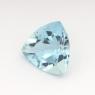 Аквамарин триллион вес 1.02 карат, размер 7.3х7.2мм (aqua0136)