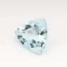 Аквамарин триллион вес 0.9 карат, размер 7х6.9мм (aqua0139)
