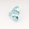 Аквамарин триллион вес 0.68 карат, размер 6.6х6.4мм (aqua0140)