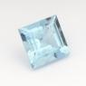 Аквамарин квадрат вес 0.54 карат, размер 5х5мм (aqua0187)