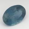 Синий аквамарин оттенка Санта Мария овал вес 1.84 карат, размер 10.2х7.2мм (aqua0204)