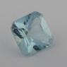 Аквамарин формы квадрат, вес 1.44 карат, размер 7.2х7.2мм (aqua0233)