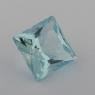 Аквамарин формы квадрат, вес 1.44 карат, размер 7.7х7.6мм (aqua0234)