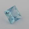 Аквамарин формы квадрат, вес 1.16 карат, размер 6.2х6.2мм (aqua0235)