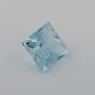 Аквамарин формы квадрат, вес 0.66 карат, размер 5х4.9мм (aqua0237)