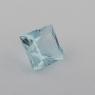 Аквамарин формы квадрат, вес 0.62 карат, размер 5х5мм (aqua0238)