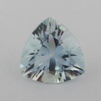 Аквамарин формы триллион, вес 1.54 карат, размер 8.2х8.2мм (aqua0239)