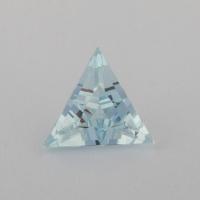 Аквамарин формы треугольник, вес 0.5 карат, размер 6.3х6.2мм (aqua0241)