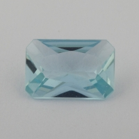 Аквамарин формы октагон, вес 0.96 карат, размер 8.2х5.6мм (aqua0247)
