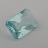 Аквамарин формы октагон, вес 1.16 карат, размер 8.6х5.9мм (aqua0248)