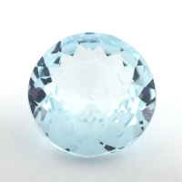 Аквамарин формы круг, вес 3.68 карат, размер 11.5х11.4мм (aqua0252)