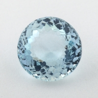 Аквамарин формы круг, вес 3.31 карат, размер 10.3х10.3мм (aqua0258)