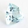 Аквамарин формы триллион, вес 3.1 карат, размер 10.7х10.7мм (aqua0278)