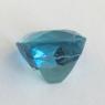 Сертифицированный яркий зеленовато-голубой аквамарин формы антик, вес 5.67 карат, размер 11.3х10.3мм (aqua0295)
