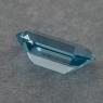 Ярко-голубой аквамарин отличной российской огранки формы октагон, вес 2.7 карат, размер 11.9х7.1мм (aqua0308)