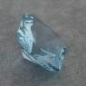 Ярко-голубой аквамарин отличной российской огранки формы октагон, вес 3.5 карат, размер 10.1х10.1мм (aqua0309)