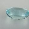 Светло-голубой аквамарин формы овал, вес 12.17 карат, размер 16.9х13.1мм (aqua0328)