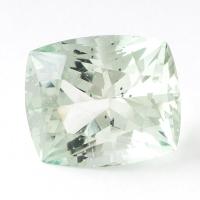 Зеленый берилл антик вес 14.67 карат, размер 17х14.3мм (beryl0073)