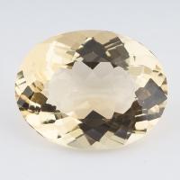 Золотистый берилл гелиодор овал вес 13 карат, размер 18.5х14.6мм (beryl0086)