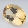 Золотистый берилл гелиодор овал вес 18.27 карат, размер 21х15.3мм (beryl0087)