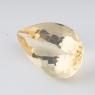 Золотистый берилл гелиодор груша вес 9.74 карат, размер 18.9х12.1мм (beryl0093)