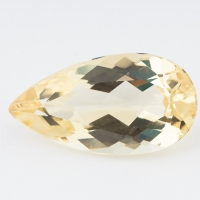 Золотистый берилл гелиодор груша вес 8.68 карат, размер 20.5х11мм (beryl0094)