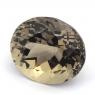 Коричневато-жёлтый берилл овал вес 21.97 карат, размер 19.4х16.7мм (beryl0120)