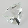 Бледно-зеленый берилл триллион вес 23.7 карат, размер 23.6х23.3мм (beryl0128)