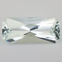 Бледно-зеленый берилл октагон вес 31.83 карат, размер 30.3х14мм (beryl0129)